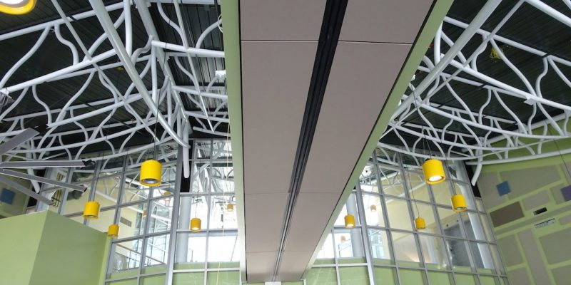 SUNY Bing Energy Wall in Ceiling